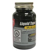 Gardner Bender 07315001126 LTB-400 Liquid Electrical Tape, Easy-on, Waterproof, Indoor/Outdoor Use, 4 Oz. Jar, Black, Bottle