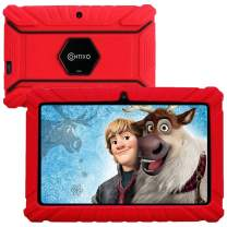 Contixo V8-2 7 inch Kids Tablet - WiFi Android Tablet for Kids - Learning Educational Apps Pre-Loaded - Kid Friendly Tablets with Parental Control - Great Toddler Tablet for Preschool Toy (Red)