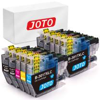JOTO Compatible Ink Cartridge Replacement for Brother LC3017 LC3017XL for Brother MFC-J5330DW, MFC-J6930DW, MFC-J6530DW, MFC-J5830DW, MFC-J5335DW, MFC-J5930DW Printer Ink (4B,2C,2M,2Y)