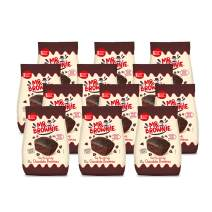 Mr. Brownie Chocolate Brownies - 12 Bags x 8 Individually Wrapped Fudge Brownie Bites with Real Belgian Chocolate Bits - Soft Sweet Snack for Home, School and Work - No Nuts, Palm Oil, or Corn Syrup