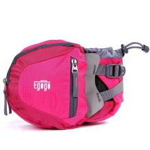 EGOGO Travel Sport Waist Pack Fanny Pack Bum Bag Hiking Bag with Water Bottle Holder S2209 (Rosy)