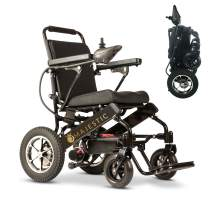"""2020 New Folding Ultra Lightweight Electric Power Wheelchair, Silla de Ruedas Electrica, Airline Approved and Air Travel Allowed, Heavy Duty, Mobility Motorized, Portable Power (17.5"""" Seat Width)"""