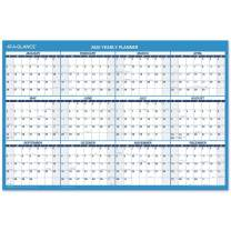 """2020 Dry Erase Wall Calendar, AT-A-GLANCE Erasable Planner, 36"""" x 24"""", Large, Double Sided, Horizontal (PM20028), Model:PM2002820"""