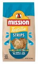 Mission Strips Tortilla Chips, Gluten Free, Restaurant Style Corn Tortilla Chips, 13 oz