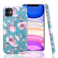 GOLINK Case for iPhone 11,Floral Series Slim-Fit Ultra-Thin Anti-Scratch Shock Proof Dust Proof Anti-Finger Print TPU Gel Case for iPhone XI 6.1 inch(2019 Release)-Pink Flower