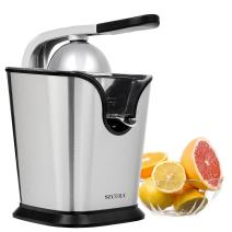 Electric Citrus Juicer Press | 160-Watt Stainless Steel Orange Juice Squeezer by Secura