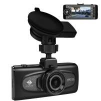 """Uber Dual Dash Cam, Z-Edge F1 2.7"""" LCD Front and Inside Car Camera, Infrared Night Vision Dash Camera for Cars, Dual 1920x1080P, 1440P Front Camera with GPS, Sony Sensor, G-Sensor, Support 256GB Max"""