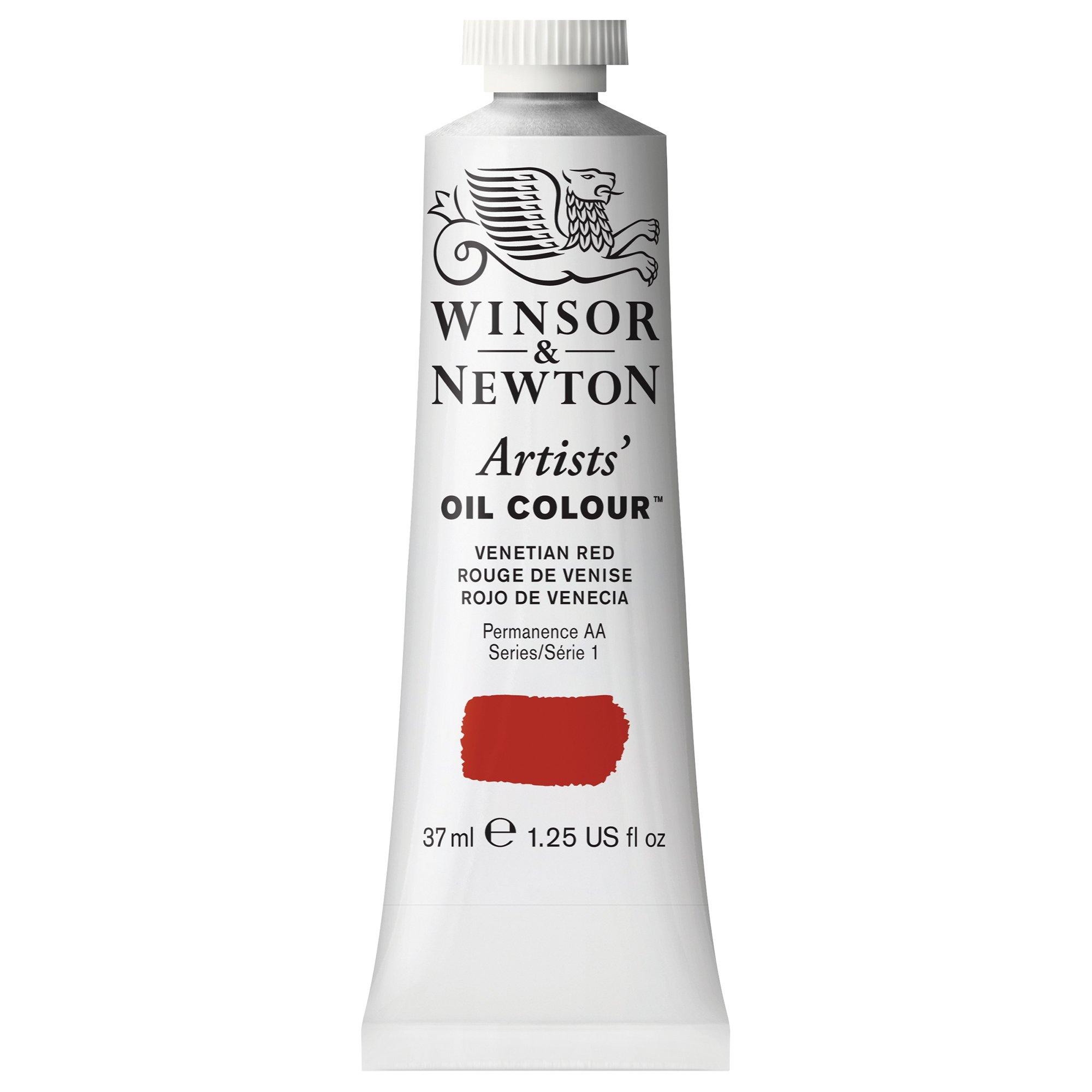 Winsor & Newton Artists' Oil Colour Paint, 37ml Tube, Venetian Red