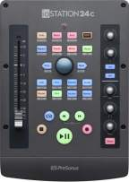 PreSonus ioStation 24c 2x2 USB-C Audio Interface & Controller, 2 Mic Pres-2 Line Outs-with Fader