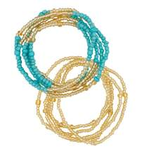 Waist Beads for Women Girls, African Waist Chains, Bikini Chain Bracelet Jewelry