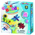 AMAV Toys Ezee Beads 400 Water Beads Bugs DIY No Ironing Game Present for Boys Girls Birthday Gift, Multicolor