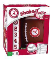 MasterPieces NCAA Alabama Crimson Tide Shake 'n Score Dice Game