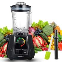 GERMIX Professional Blenders 1800-Watt High Power Speed Countertop Blender Base 10 speeds for making smoothies Juice IceFruit  Black