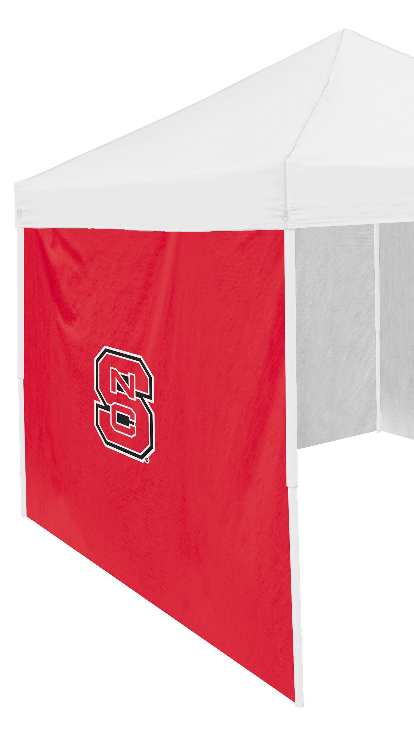 Logo Brands NCAA North Carolina State Wolfpack Adult Size Tailgate Canopy 9 x 9 Side Panel Tent