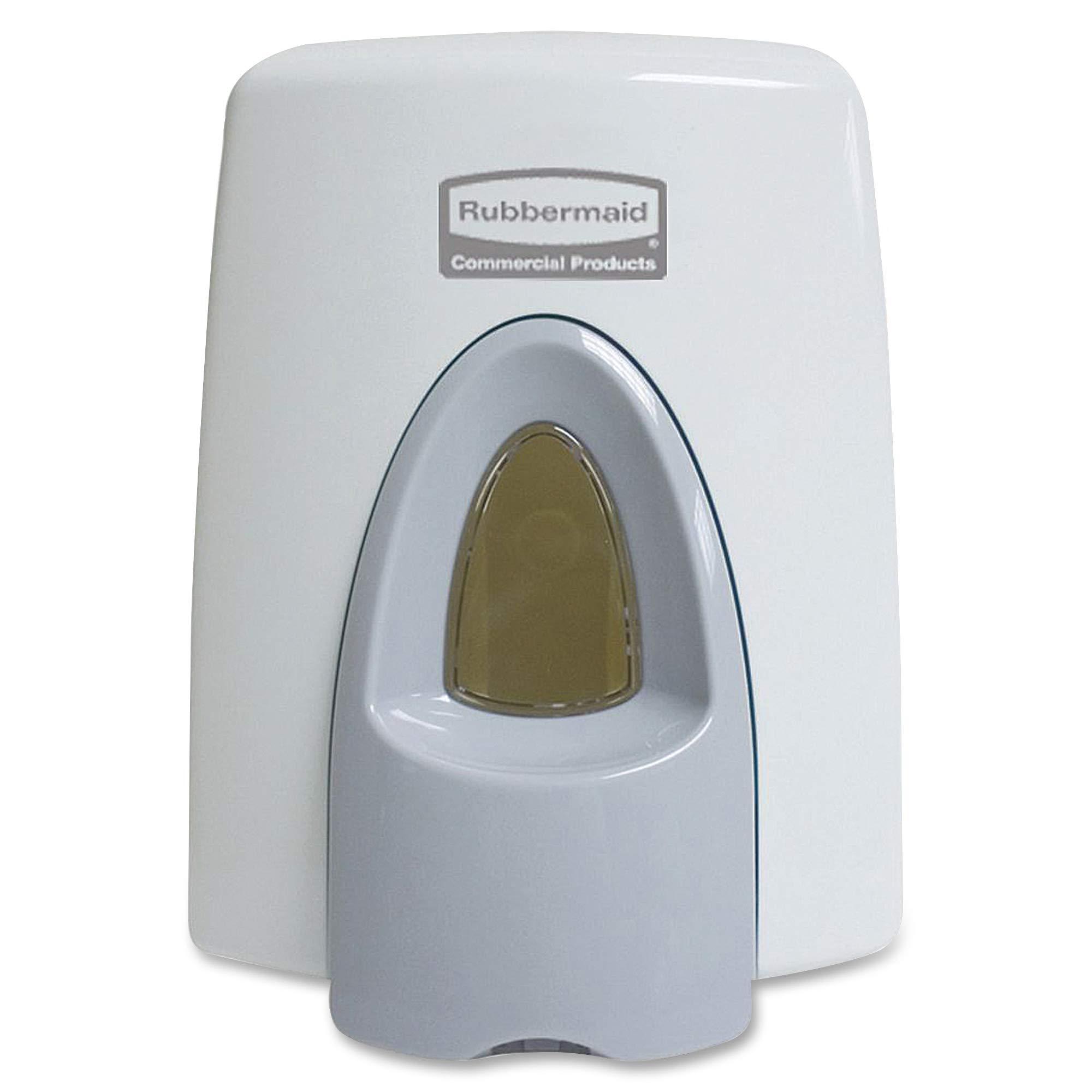 Rubbermaid Commercial FG402310 Clean Seat Foam Toilet Cleaner System Dispenser, 400ml, White