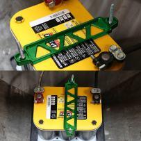 DNA MOTORING Batt-Long-GN Battery Tie Down Mount Bracket
