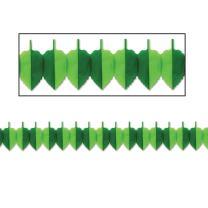 Beistle 54240 Spring Leaf Garland, 7 by 12-Feet (Value 3-Pack)