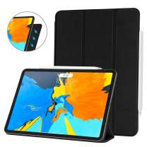 Ayotu Case for iPad Pro 11'' 2018(Old Model),Strong Magnetic Ultra Slim Minimalist Smart Case with Auto Sleep/Wake,Support Cover's Back fold adsorption,Trifold Stand Cover for iPad Pro 11'' 2018,Black