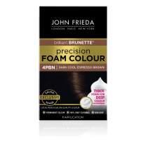 John Frieda Precision Foam Permanent Hair Colour in 4PBN Dark Cool Espresso Brown