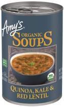 Amy's Soups, Organic Quinoa, Kale & Red Lentil Soup, 14.4 Ounce