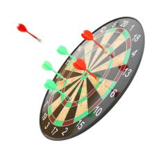 Scotamalone Magnetic Dart Board 17 Inch Dart Board with 6 Magnet Darts - Excellent Indoor Game and Party Games - Magnetic Dart Board for Kids and Adult