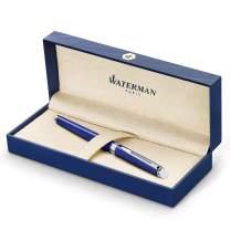 Waterman Hemisphere Fountain Pen Medium Nib with Blue Ink Cartridge (2042966)