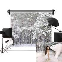 Kate 7x5ft/2.2m(W) x1.5m(H) Winter Background Christmas Snow Backdrop Snowfield Winter Wonderland Backdrop Photography Studio Prop