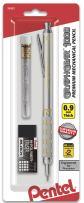 Pentel GraphGear 1000 Automatic Drafting Pencil (0.9mm), with Eraser Refills, 1-Pk (PG1019EBP)
