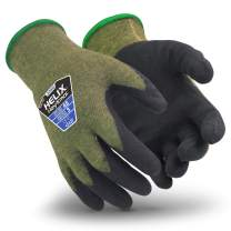 HexArmor Helix 2080 Seamless Work Gloves with Cut Resistance, XX-Large