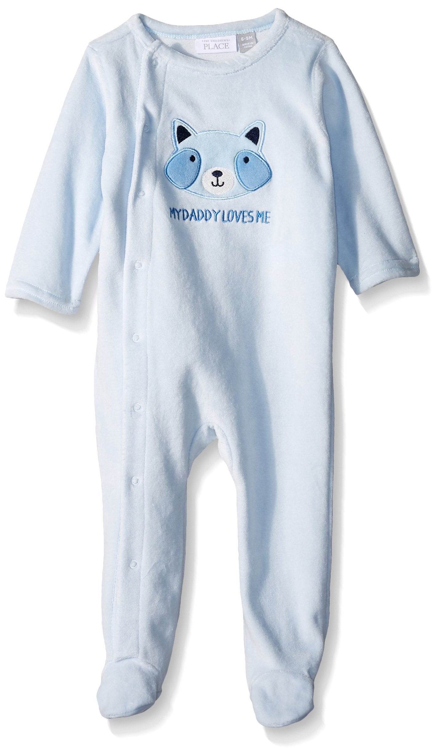 The Children's Place Baby Boys' Sleep 'N Play Romper