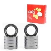 FKG 6804-ZZ 20x32x7mm Deep Groove Ball Bearing Double Metal Shields Bearing Pre-Lubricated 10 Pcs