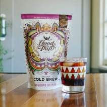 Good Trip: Darjeeling Dirty Chai ~ As Seen in Anthropologie | Organic Coffee Infusion Mixed w/ Teas, Spices & Coconut | Vegan, GF, Keto, Non-GMO | (Mess Free Cold Brew Bags), 7 Servings