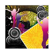 Baocicco 7x7ft Disco Party Backdrop 70s 80s 90s Disco Nightclub Photo Backdrop Hip Hop Disco Ball Neon Lights Photography Background Theme Birthday Party Dancing Party Adults Portrait Studio Props