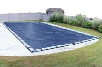 Robelle 492045R Rip-Shield Pro-Select Winter Pool Cover for In-Ground Swimming Pools, 20 x 45-ft. In-Ground Pool