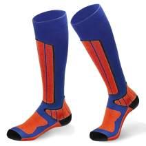 Wool Ski Socks, High Performance Extra Warm Sock Snow Skiing/Snowboard Socks- Perfect for Skiing, Snowboarding and climbing