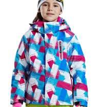 FARVALUE Girls Waterproof Ski Jacket Winter Warm Outdoor Windproof Coat