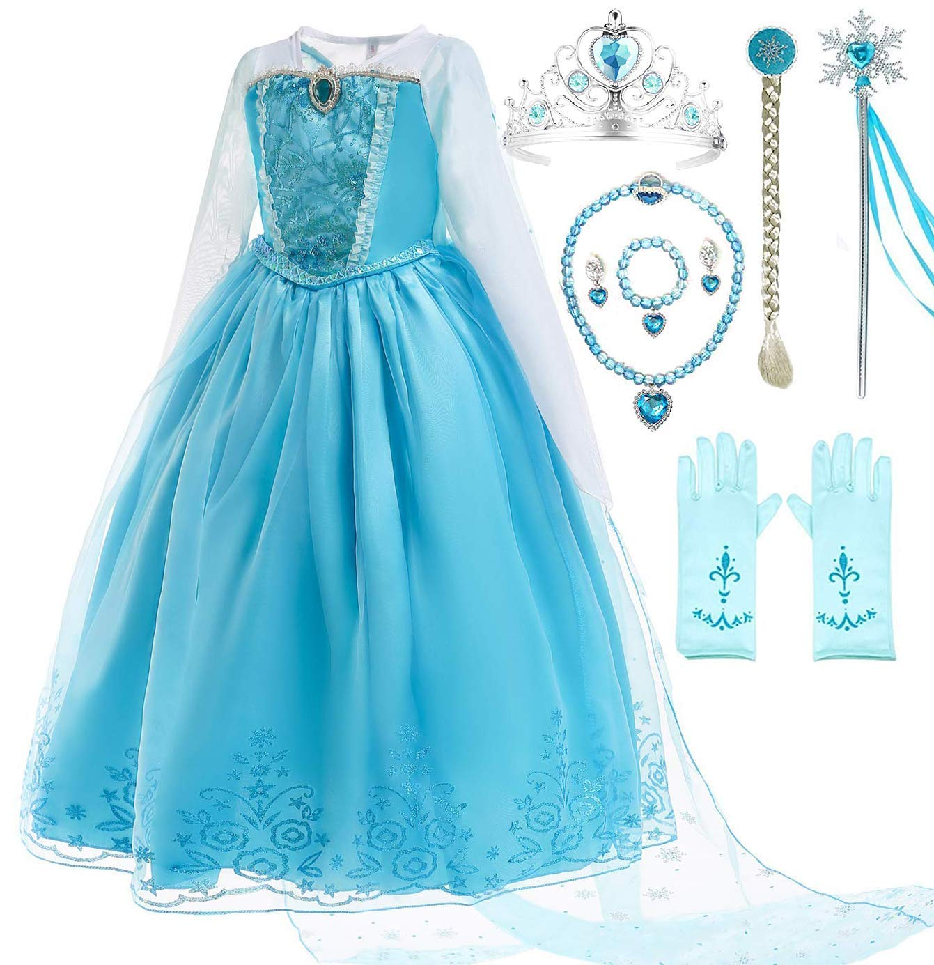 Romy's Collection Blue Party Costume Dress-Up Set