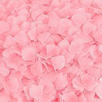 BESKIT 3000 Pieces Rose Petals Artificial Flower Silk Petals for Valentine Day Wedding Flower Decoration (Pink)