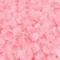 BESKIT 3000 Pieces Rose Petals Artificial Flower Silk Petals for Valentine Day Wedding Flower Decoration (Pink)