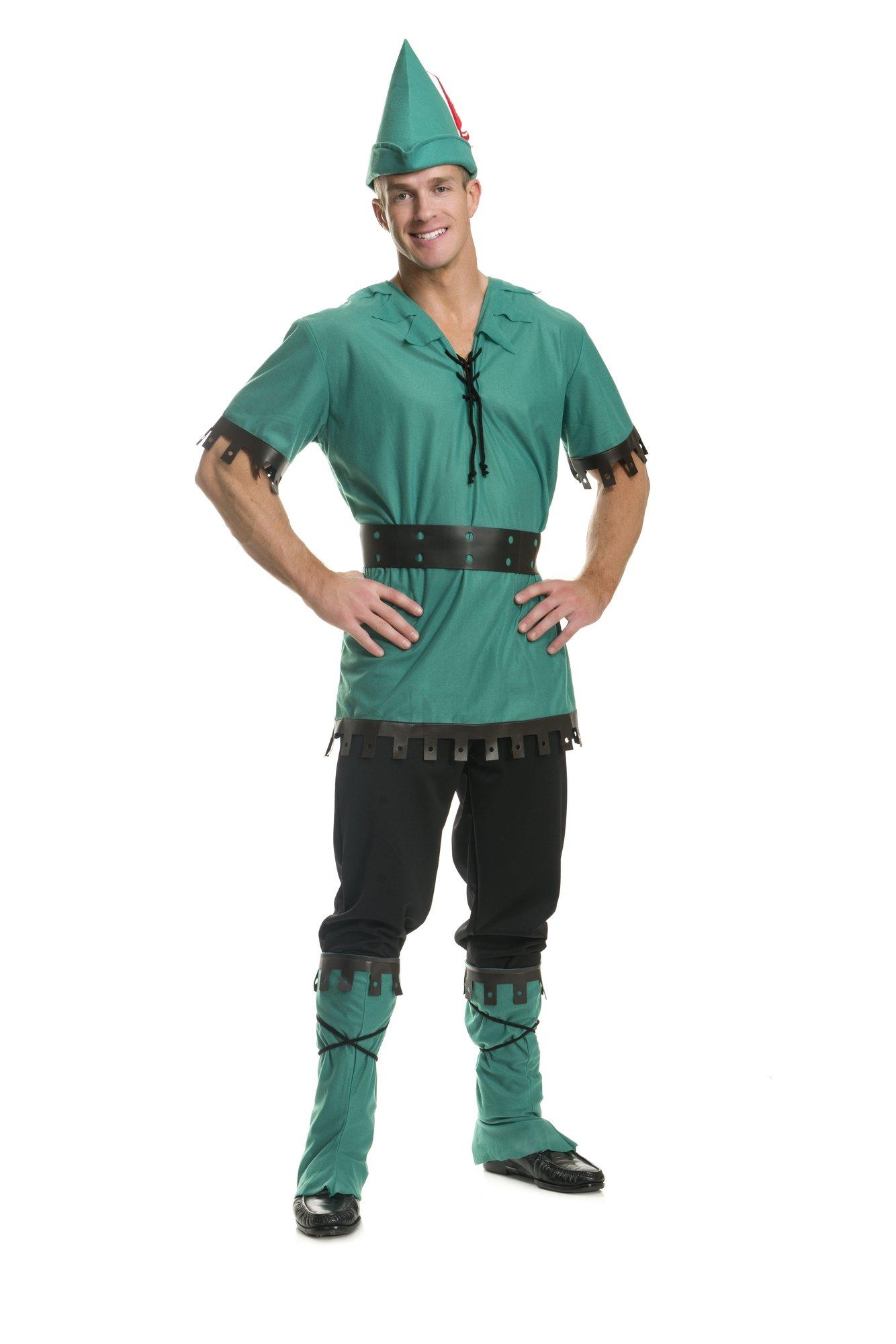 Charades Men's Robin Hood Costume