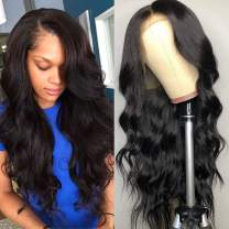 ITODAY 13×4 Lace Front Wigs Human Hair 150% Density Brazilian Body Wave Human Hair Wigs for Black Women Pre Plucked With Baby Hair (10 inch, 13×4 Body Wave Wig)