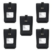 Retevis RT21 Two-Way Radio Battery 1100mAh Li-ion Rechargeable Battery Compatible with Retevis RT21 Walkie Talkies (5 Pack)