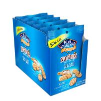 Blue Diamond Almond Nut Thins Cracker Crisps, Hint Of Sea Salt, 2oz, Single Serve, 6 Count