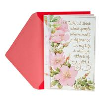 Hallmark Mother's Day Card (Marjolein Bastin Flower Design)