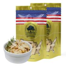 DOL American Ginseng Slice 4oz/Bag(2Bags) from Wisconsin 花旗参片/西洋参片 (Sliced Ginseng Root)113g/Bag