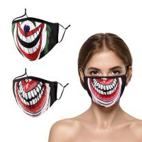 Face Mask Reusable Washable Cloth Breathable Designer Adjustable Cute Facemask for Women Adult Girls