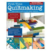 Educational Quilting Skill Improvement and Project Books - Develop a Variety of Blankets and Artwork (First-Time Quiltmaking)