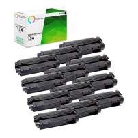 TCT Premium Compatible Toner Cartridge Replacement for HP 15A C7115A Black Works with HP Laserjet 1000 1005 1150 1200 1220 1220SE 1300, 3300MFP 3320 3330MFP Printers (2,500 Pages) - 12 Pack