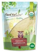 Organic Almond Flour, 4 Pounds — Extra Fine Blanched Prime Meal, Non-GMO, Low Carb, Culinary Grade, Kosher, Keto, Paleo and Vegan Super Powder, Bulk