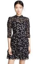 Rebecca Taylor Women's Long Sleeve Met Nuage Dress